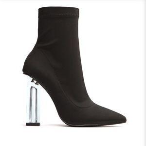 Fashion Nova In The Muse Black Bootie